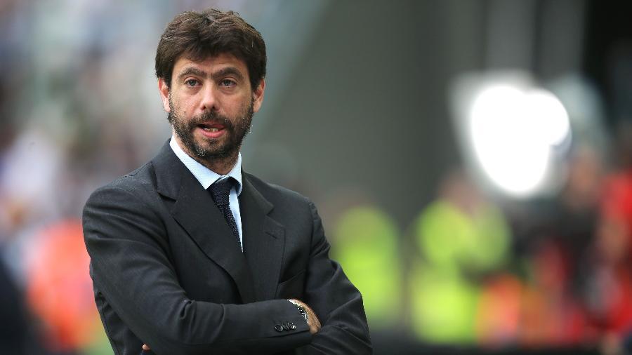 Andrea Agnelli, presidente da Juventus - Marco Bertorello/AFP