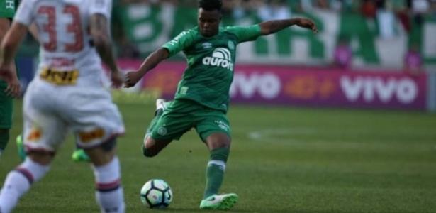 Moisés Ribeiro vem sendo desfalque por conta de uma fratura na vértebra - Sirli Freitas/Chapecoense/Divulgação