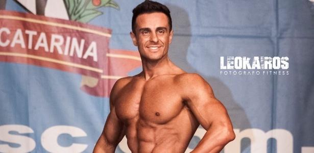 Henrique Azevedo, ex-lateral-direito do Avaí, agora é fisiculturista