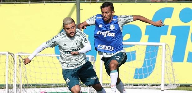 Gustavo Scarpa é a principal novidade do Palmeiras para a volta da Copa - Cesar Greco/Ag. Palmeiras/Divulgação