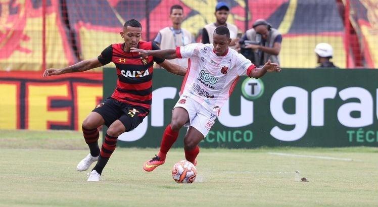 fcb17eae77828 Sport foi derrobado contra o Flamengo-PE