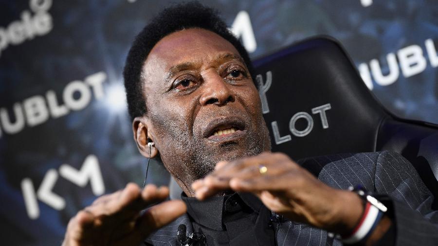 Pelé, durante evento - FRANCK FIFE / AFP