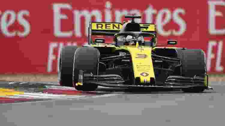 Daniel Ricciardo, piloto da Renault - Greg Baker/AFP - Greg Baker/AFP