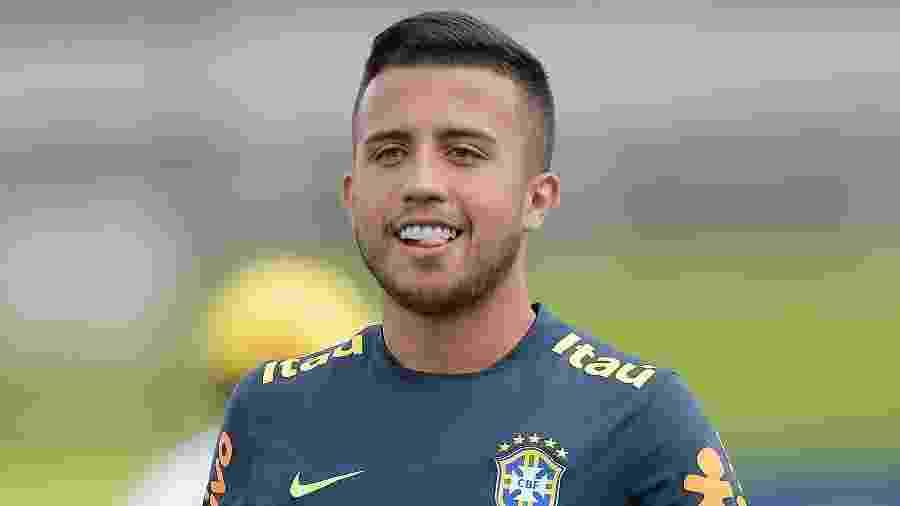 Matheus Henrique, da seleção brasileira sub-23 e do Grêmio - Divulgação