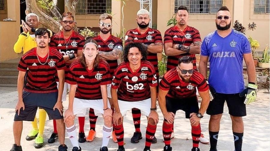 Sósias do Flamengo têm impacto na agenda em período sem jogos - Reprodução Instagram
