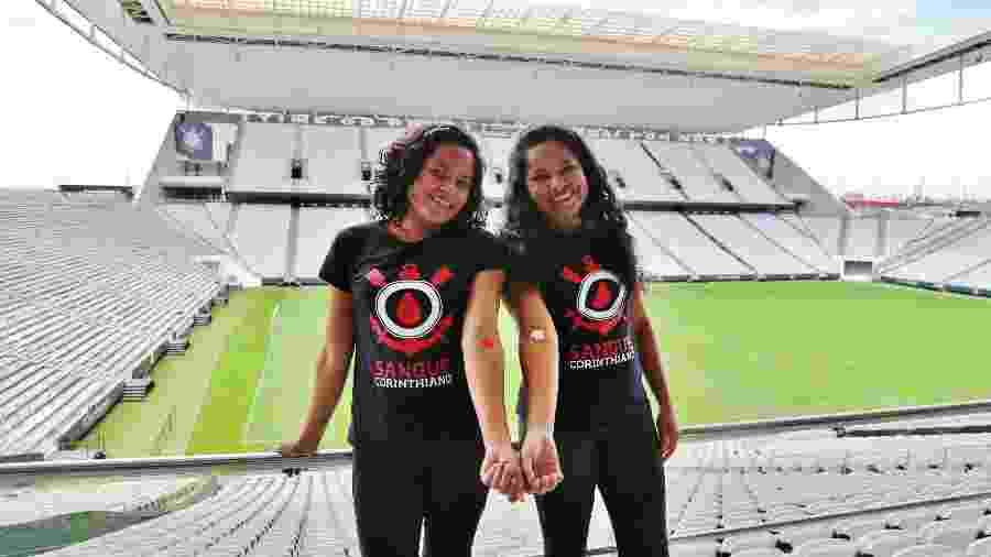 Corinthians abriu Arena para campanha de doação de sangue - José Manoel Idalgo/Corinthians