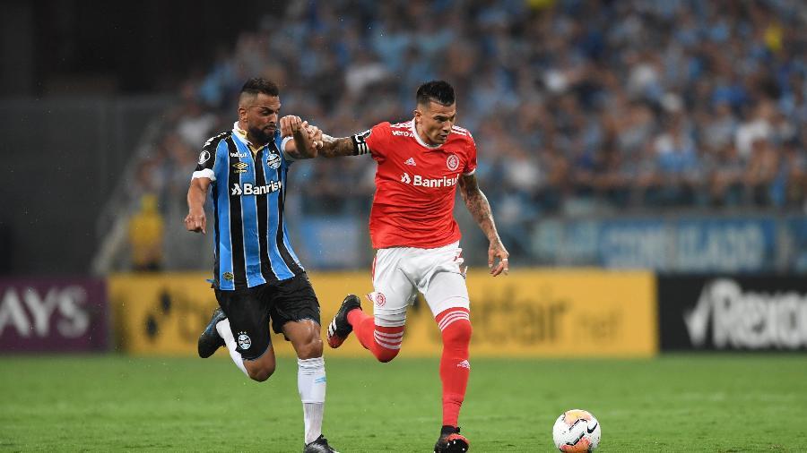 Inter e Grêmio vivem mudanças em momentos semelhantes no início de trabalho para 2021 - Fotos de: Lucas Uebel/Grêmio FBPA e Ricardo Duarte/SC Internacional