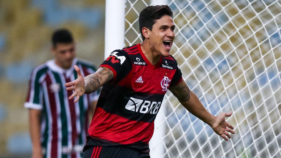 Pedro foi contratado pelo Flamengo a pedido de Jorge Jesus - Buda Mendes/Getty Images