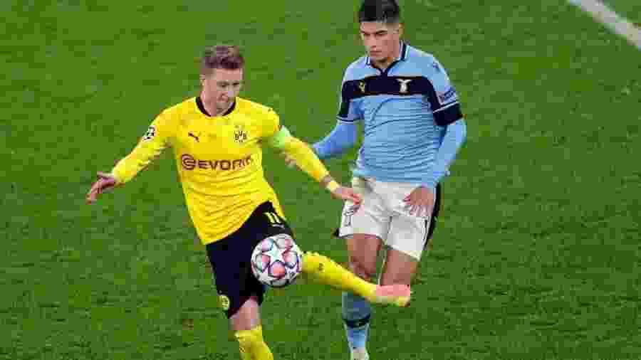 Borussia Dortmund joga contra Lazio pela Liga dos Campeões - Friedemann Vogel - Pool/Getty Images