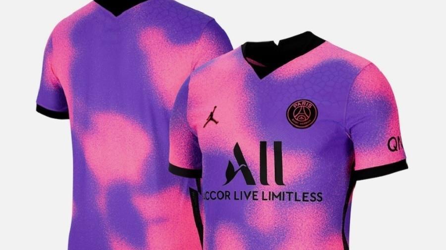 """Slogan utilizado pelo clube para promover novo uniforme foi: """"Uma nova camisa, para uma outra dimensão"""" - Reprodução/PSGStore"""