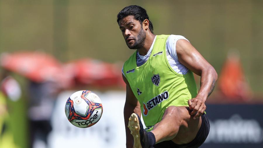 Hulk, uma das contratações mais impactantes no Brasil em 2021, ainda não fez um grande jogo pelo Galo - Pedro Souza/Atlético-MG