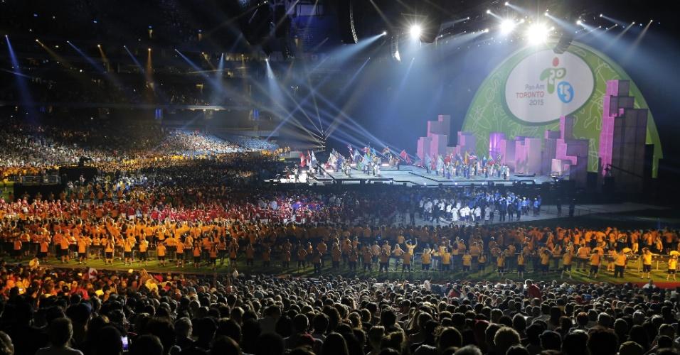 Cerimônia de encerramento dos Jogos Pan-Americanos de Toronto