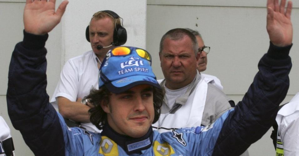 Primeiro título mundial de Alonso fez com que a F-1 ganhasse popularidade na Espanha