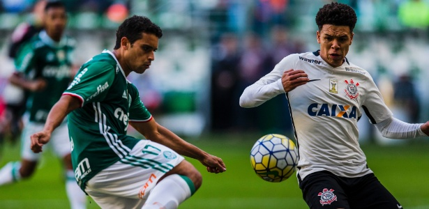 Corinthians e Palmeiras se enfrentam no Campeonato Brasileiro