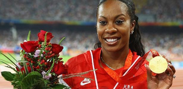 Sanya Richard-Ross conquistou ouro olímpico poucos dias após abortar