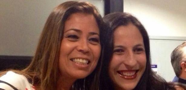 Rebeca Bandeira (esq.) e Andreia Cerqueira lideraram inclusão de cota de gênero