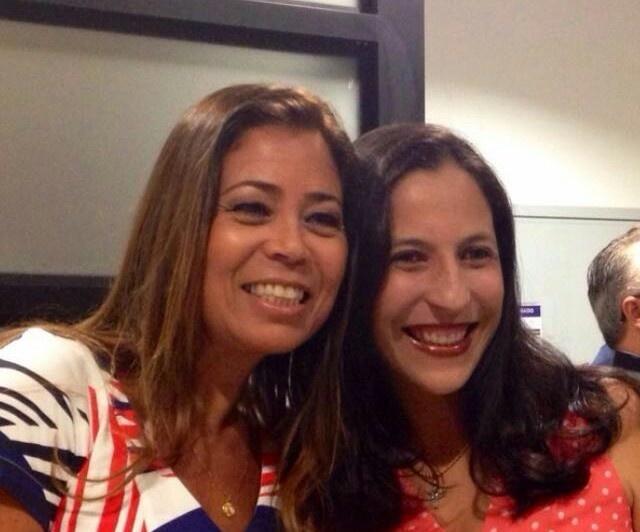 Rebeca Bandeira e Andreia Cerqueira, conselheiras do Bahia