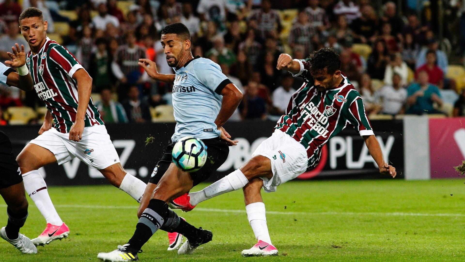 Richarlison voltou ao Fluminense após pedir para não enfrentar o Palmeiras