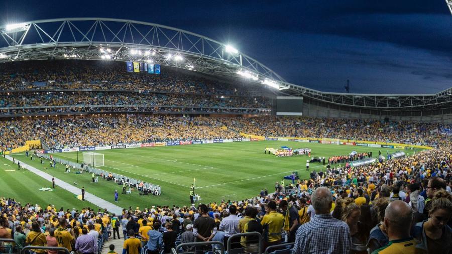 ANZ recebeu Austrália x Honduras pelas Eliminatórias para a Copa do Mundo - Dominic Lorrimer/Getty Images