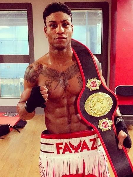 O boxeador Kelvin Bilal Fawaz - Reprodução/Instagram