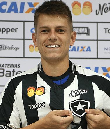 João Pedro Heinen Silva, meia do Botafogo