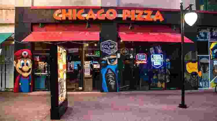 chicago pizza - reprodução/Facebook - reprodução/Facebook