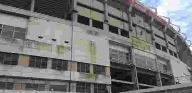 Fachada do estádio do River Plate aparenta boa conservação - Leandro Miranda/UOL - Leandro Miranda/UOL