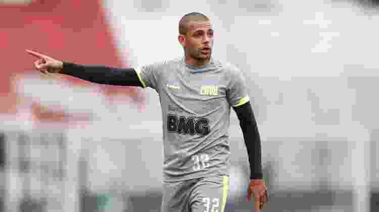 Atacante Clayton já está treinando no Vasco e virou opção para o técnico Vanderlei Luxemburgo - Rafael Ribeiro / Vasco