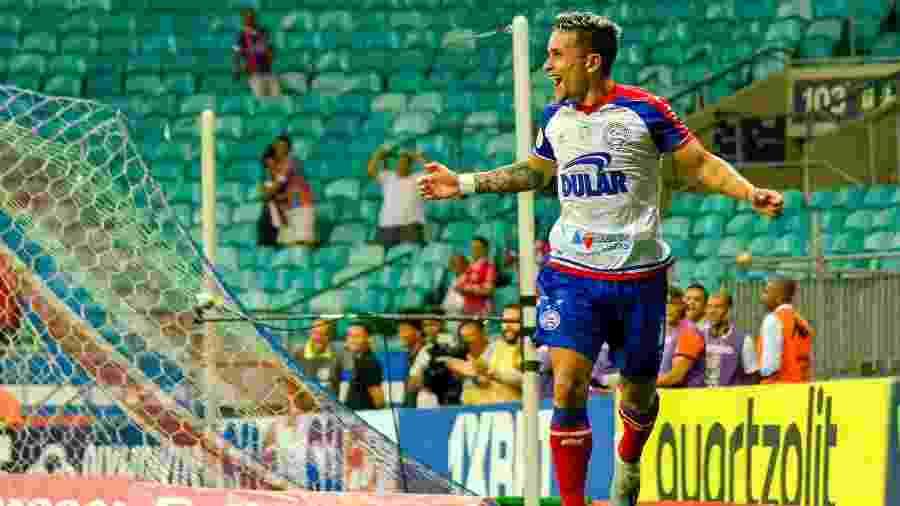 Artur é o vice-artilheiro do Bahia no Brasileirão, com cinco gols - Jhony Pinho/AGIF