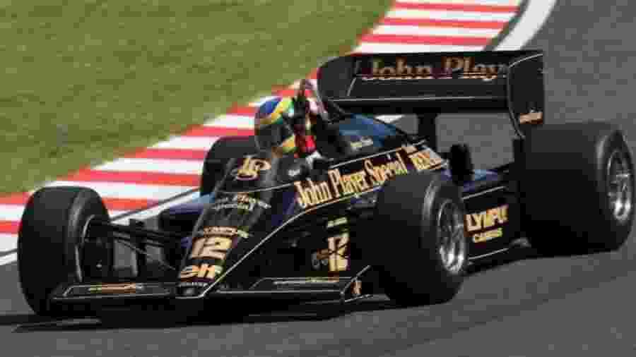 Lotus de 1985 será pilotada por Felipe Massa e Pietro Fittipaldi no evento - Divulgação