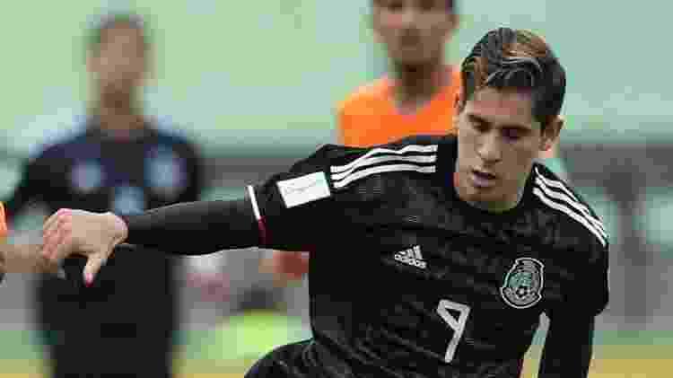 Santiago Muñoz, do México, é um dos destaques da seleção no Mundial sub-17 - SERGIO MORAES/Reuters - SERGIO MORAES/Reuters