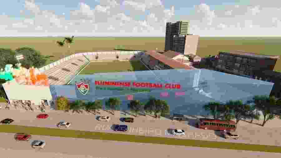 Revitalização prevê estádio das Laranjeiras com capacidade para 15 mil pessoas - Reprodução