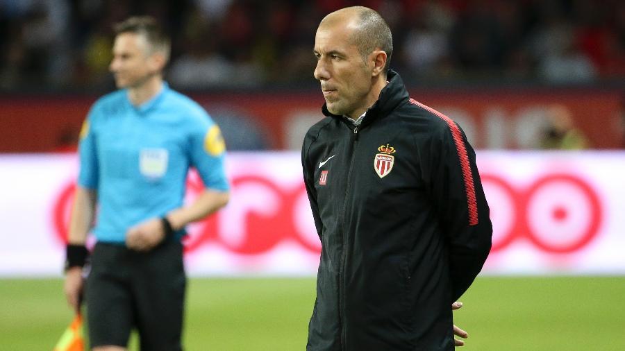 Leonardo Jardim comanda o Monaco em partida de 2019; técnico está na mira do Fla - Jean Catuffe/Getty Images