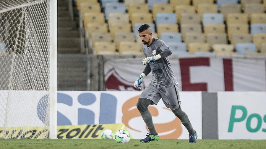 Contra o Vasco, Marcos Felipe teve mais uma atuação segura e pressiona Muriel no Fluminense - Lucas Merçon/Fluminense FC