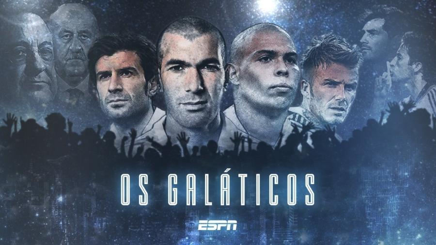 """Pôster de """"Galáticos"""", a série documental da ESPN que conta ascensão e queda de um Real Madrid histórico - Divulgação"""