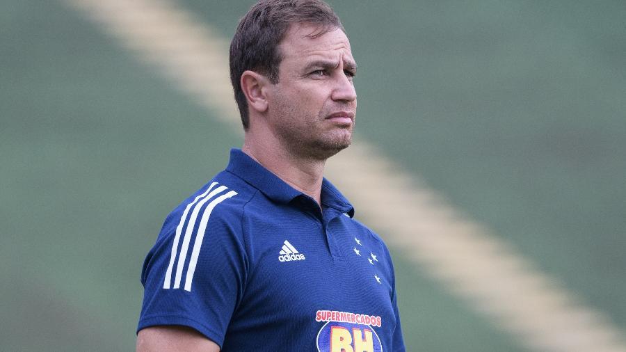 Felipe Conceição, técnico do Cruzeiro - Gustavo Aleixo/Cruzeiro