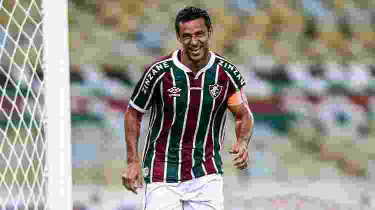 Bem no Fluminense, Fred marcou 400º gol da carreira e está de olho em marca contra o Botafogo - Lucas Mercon/Fluminense FC - Lucas Mercon/Fluminense FC