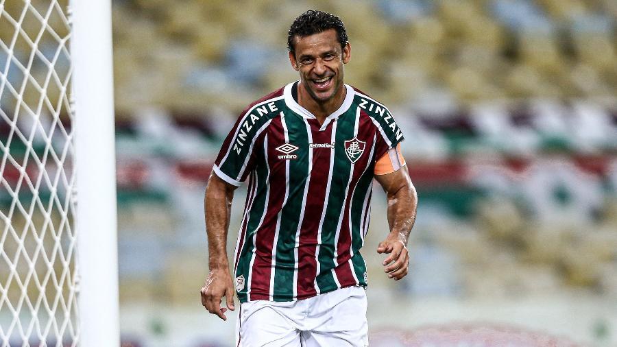 Bem no Fluminense, Fred marcou 400º gol da carreira e está de olho em marca contra o Botafogo - Lucas Mercon/Fluminense FC