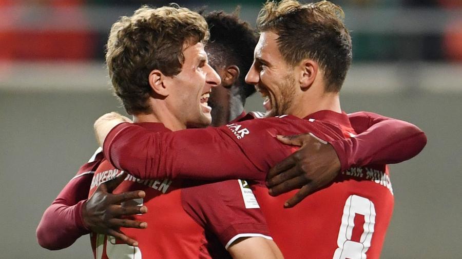 Bayern de Munique vence o Greuther Fürth por 3 a 1 em jogo válido pelo Campeonato Alemão  - REUTERS