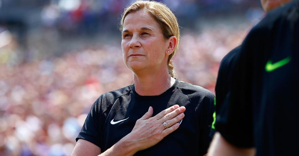 Jill Ellis (EUA/Seleção dos EUA): candidata a melhor treinadora (time feminino) de 2015