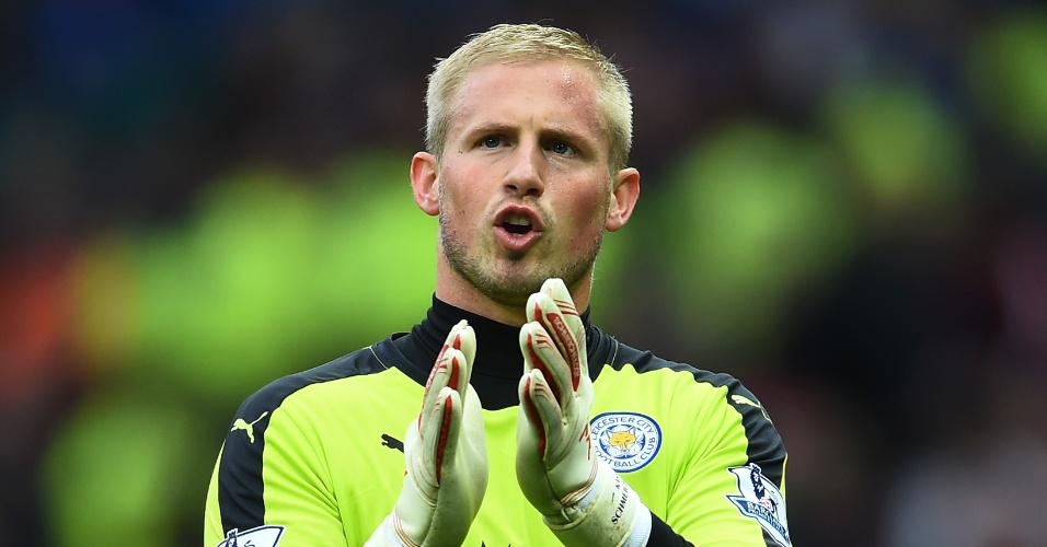Kasper Schmeichel, goleiro do Leicester City
