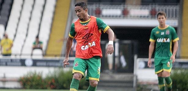 Jorge Henrique é uma das dúvidas do Vasco para enfrentar o Criciúma