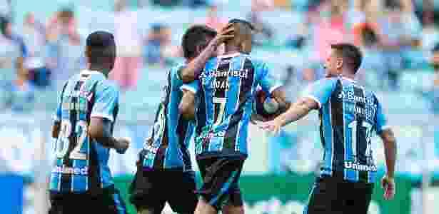 Luan empata para o Grêmio contra o Veranópolis na Arena - Jeferson Guareze/AGIF