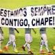 Após provocação, Criciúma sub-20 entra em campo com faixa de apoio à Chape