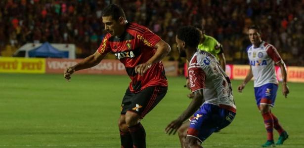 De volta após lesão, Diego Souza não esteve em suas melhores noites