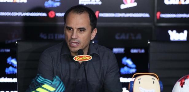 O diretor executivo Rodrigo Caetano foi demitido do Flamengo