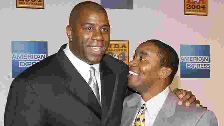 Magic Johnson e Isiah Thomas: duas lendas do basquete dos anos 80 se reconciliam  - Reprodução