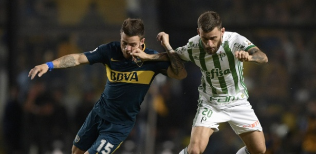 Boca Juniors x Palmeiras da primeira fase também teve arbitragem do chileno Roberto Tobar - AFP PHOTO / JUAN MABROMATA
