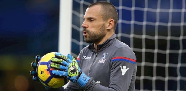 Goleiro brasileiro de 35 anos não entrou em campo pelo Crystal Palace neste ano