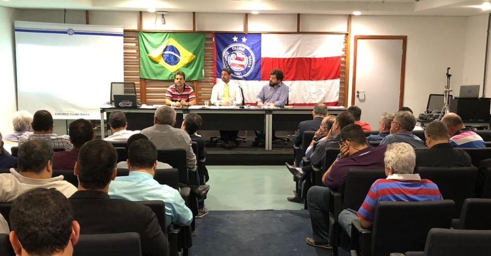 Reunião do Conselho Deliberativo do Bahia